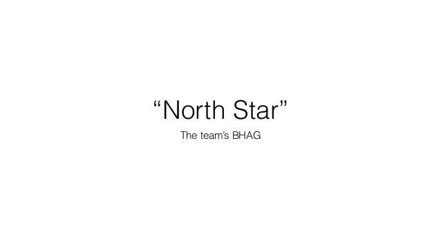 """North Star"" The team's BHAG"