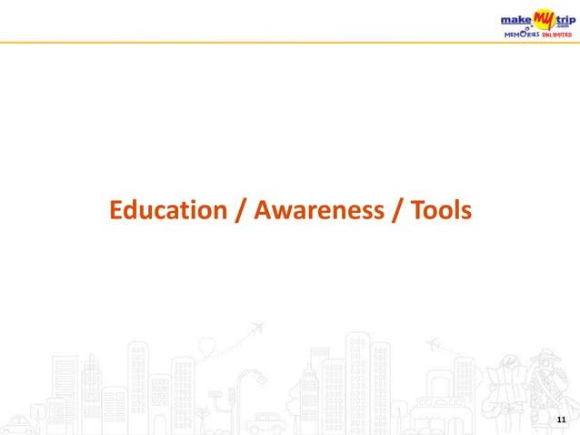 Education / Awareness / Tools 11