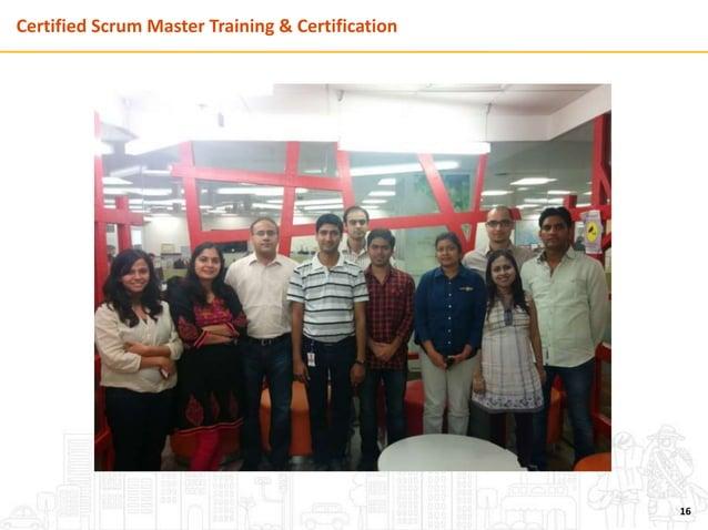 Certified Scrum Master Training & Certification 16