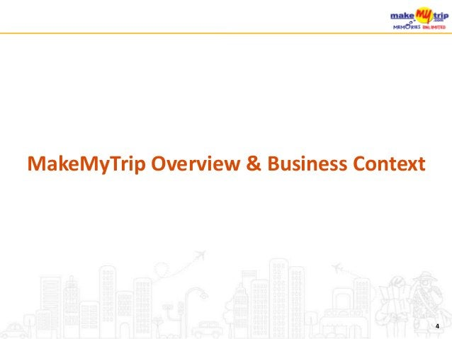 MakeMyTrip Overview & Business Context 4