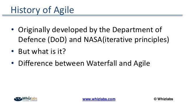 Agile in a nutshell a comprehensive overview pmp webinar for Difference between agile and waterfall testing