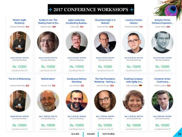 + + SHARELEARN NETWORK 2017 CONFERENCE WORKSHOPS 24