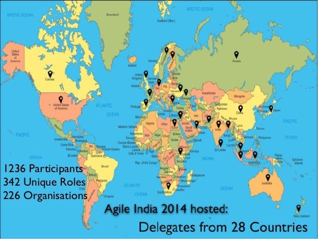1236 Participants 342 Unique Roles 226 Organisations