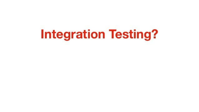 Take Control of your Integration Testing with TestContainers Slide 3