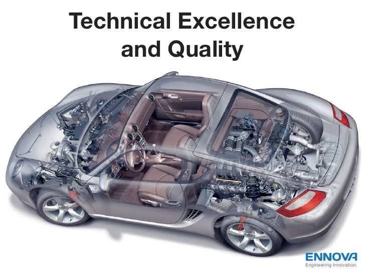 Technical Excellence    and Quality                       Engineering Innovation.
