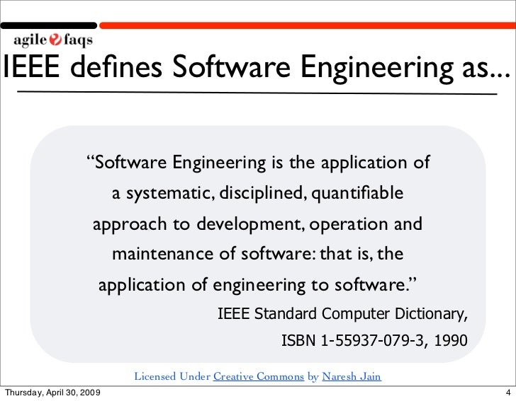 software engineering IEEE PAPER