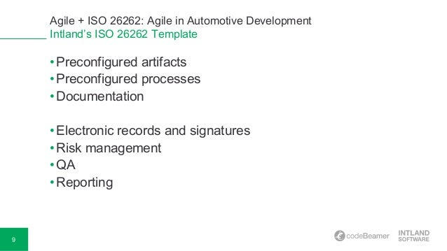agile artifacts templates - agile iso 26262 using agile in automotive development