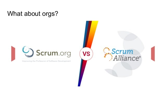 What about orgs?