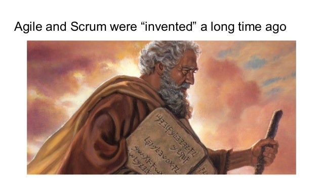 """Agile and Scrum were """"invented"""" a long time ago"""