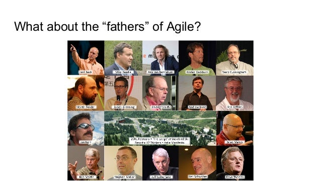 """What about the """"fathers"""" of Agile?"""