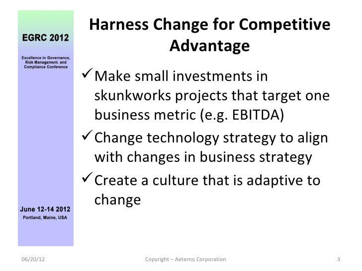 Agile IT Governance EGRC 2012  Slide 3