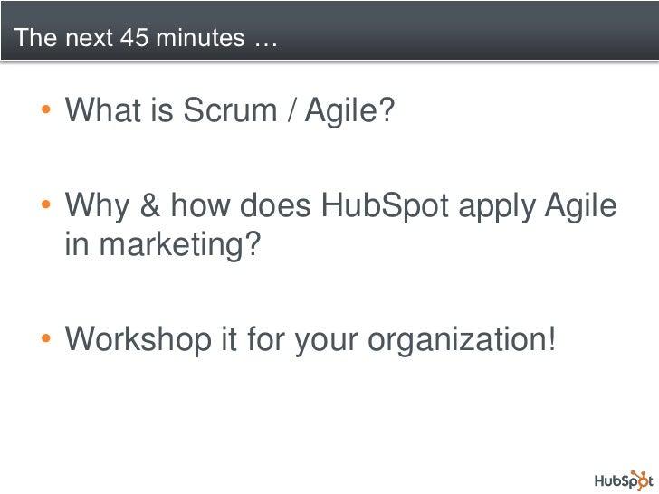 Marketing the Agile Way Slide 2