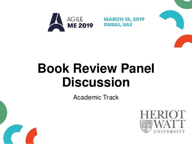 Book Review Panel Discussion Academic Track