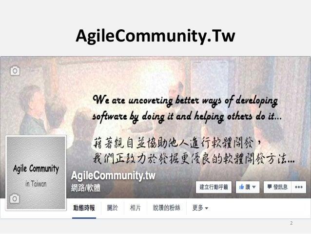 Agile meetuphsinchu201508 scrumvskanban Slide 2