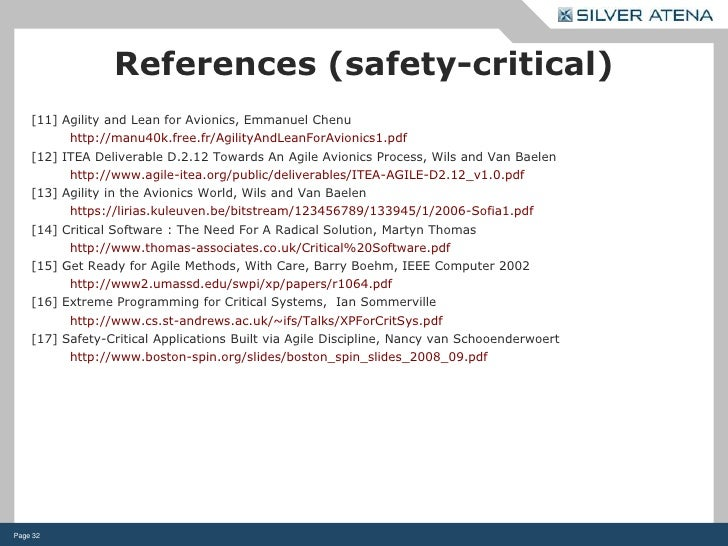 safety critical software and life critical software International journal of software engineering and its applications vol 3, no4, october 2009 21 a software safety model for safety critical applications.