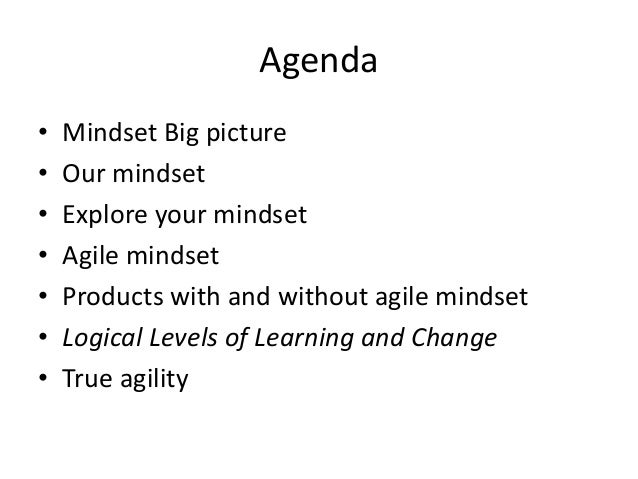 Agile Mindset and Culture by Hithem Ahmed Slide 2