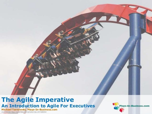 www.plays-in-business.com www.Plays-in-Business.com The Agile Imperative An Introduction to Agile For Executives Michael T...