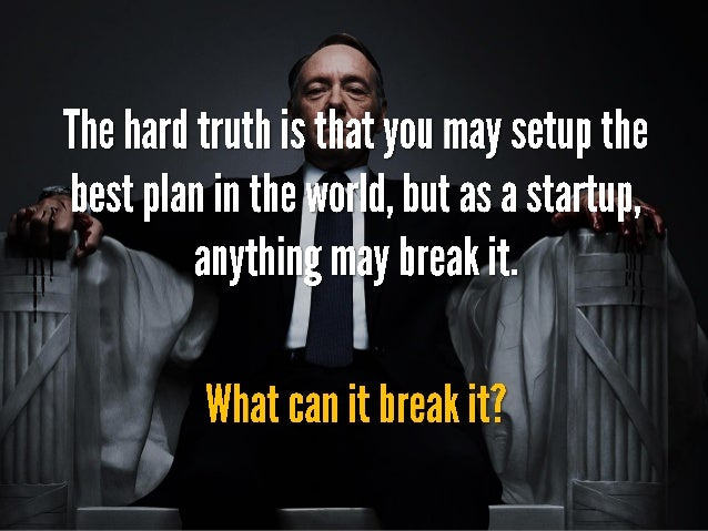 Running Agile for a startup and a hard truth