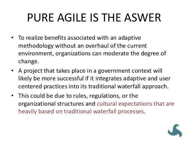 Pitfall #4 • When to Change? – We must also consider the timing of the change to agile. Below are some potential scenarios...