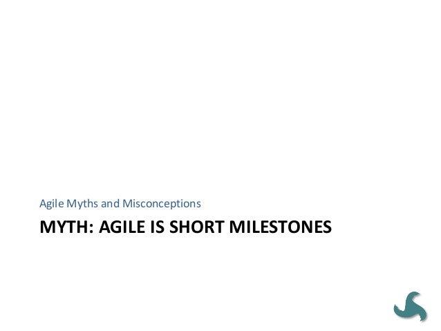Agile Has Equal (or greater) Focus on Engineering • Early Agile methodologies were heavy on engineering – Test-Driven Deve...