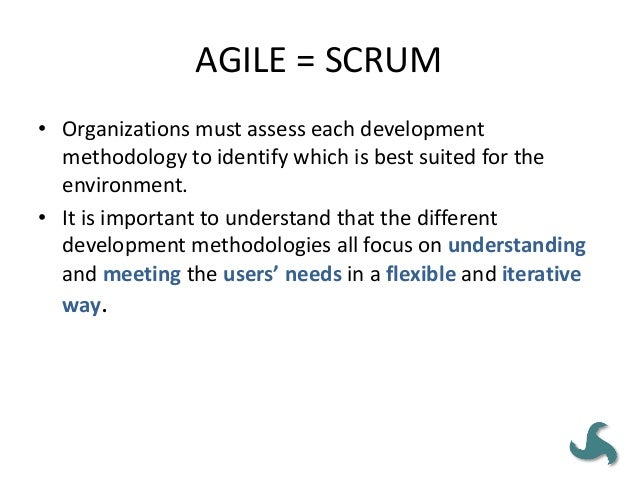 AGILE MEANS 'NO GOVERNANCE' • Defining lightweight, fast moving, and effective project governance is incredibly important ...