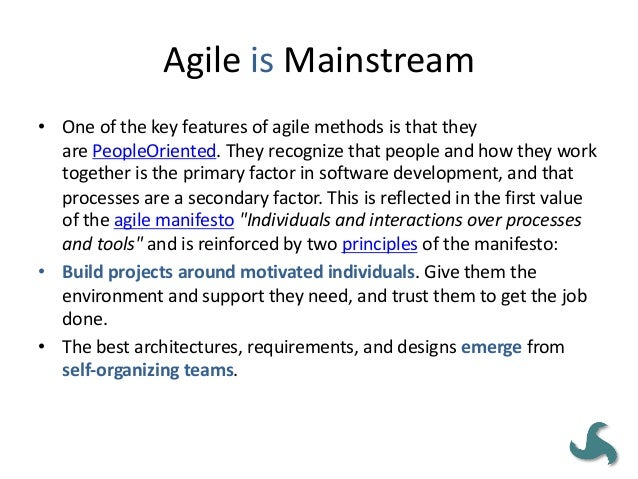 AGILE MEANS 'NO DOCUMENTATION' • The adaptive and iterative nature of agile places less emphasis on the need for documenta...