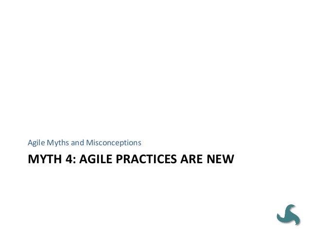 MYTH 18: AGILE MEANS WEAK CONTROL Agile Myths and Misconceptions