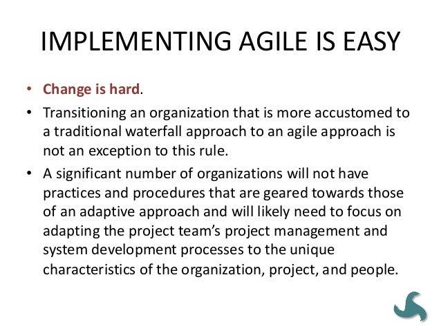146 • Puoi essere disciplinato o agile. • Abbiamo bisogno di documentazione dettagliata di tutti i requisiti nel fase uno,...
