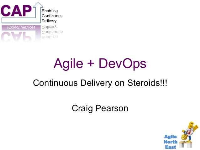 Project Services  Enabling  Continuous  Delivery  Continuous Delivery on Steroids!!!  Agile  North  East  Agile + DevOps  ...