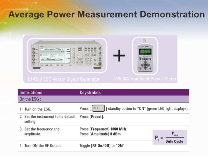 Handheld Rf Meter : V a handheld rf power meter