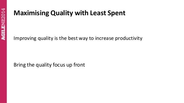 Agile NZ 2014 How to Increase Software Developer Productivity Slide 3