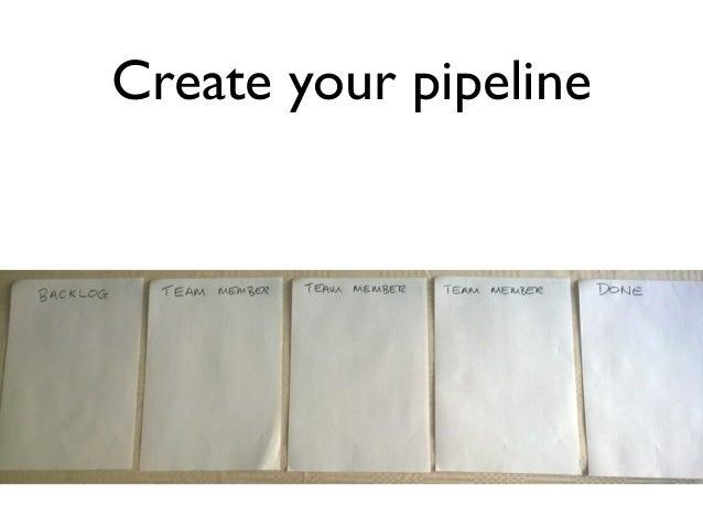 Create your pipeline