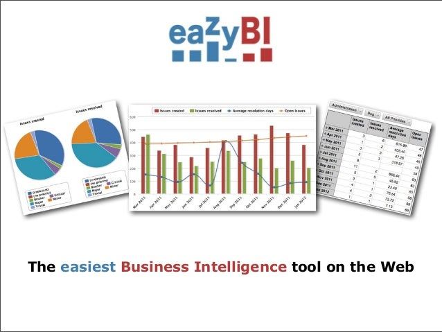 The easiest Business Intelligence tool on the Web