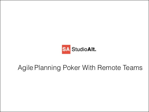 Agile Planning Poker With Remote Teams