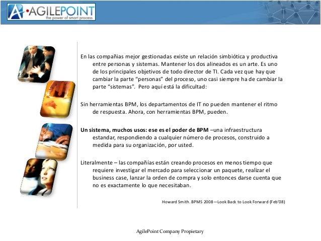 NexTReT AgilePoint La gestion con agilidad y control Slide 2