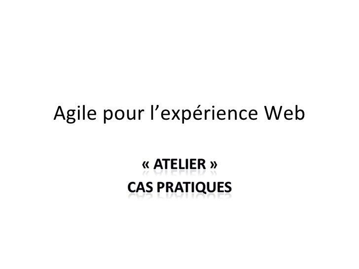 Agile pour le web
