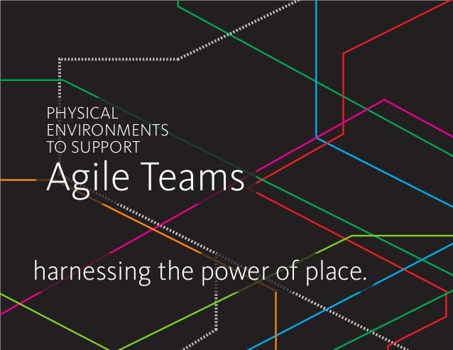 harnessing the power of place. PHYSICAL ENVIRONMENTS TO SUPPORT Agile Teams