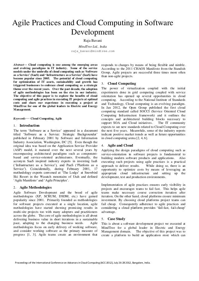 Proceedings of the International Conference on Advances in Cloud Computing (ACC-2012), July 26-28 2012, Bangalore, India. ...