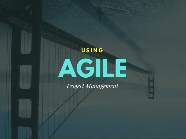 AGILE U S I N G Project Management