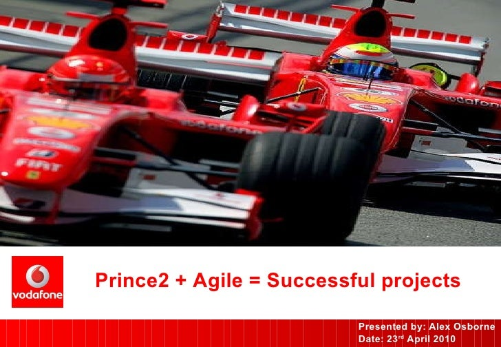 Prince2 + Agile = Successful projects Presented by: Alex Osborne Date: 23 rd  April 2010
