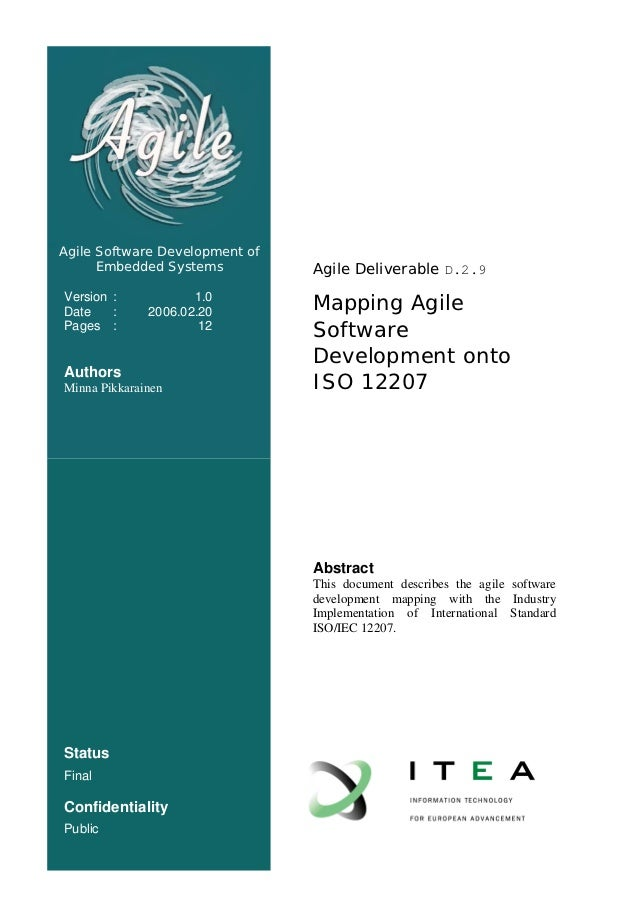 Agile Software Development of      Embedded Systems          Agile Deliverable D.2.9Version :Date    :                    ...