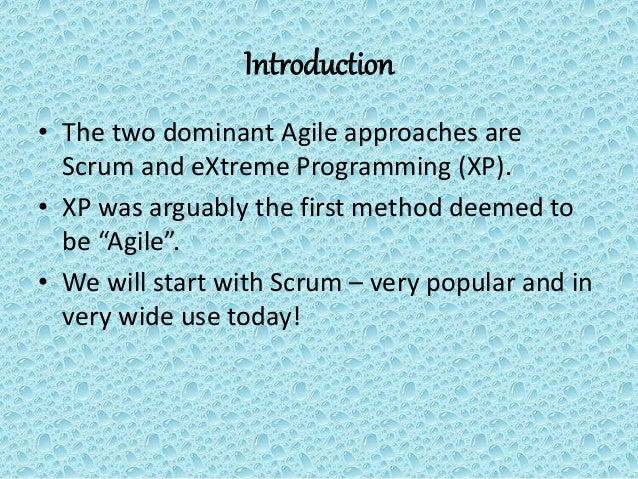 Agile Processes - Scrum Slide 3