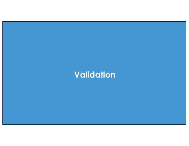 effective agile. Validation