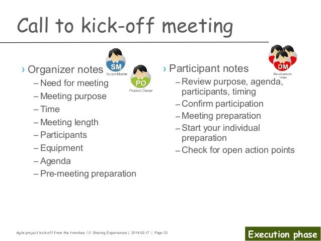 Superb ... Execution Phase; 33. Agile Project Kick Off ...