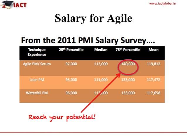 www.iactglobal.in Salary for Agile