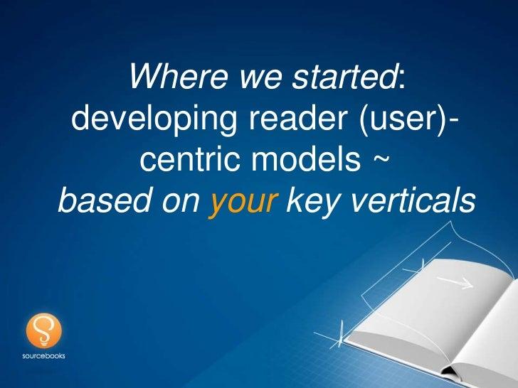 Agile Publishing Model - version 2012 Slide 2