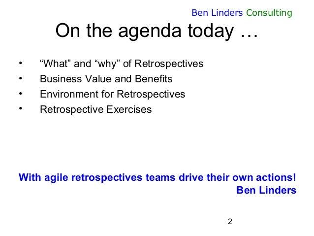 Sustainable Improvement through Agile Retrospectives - AgileEE 2015 - Ben Linders Slide 2