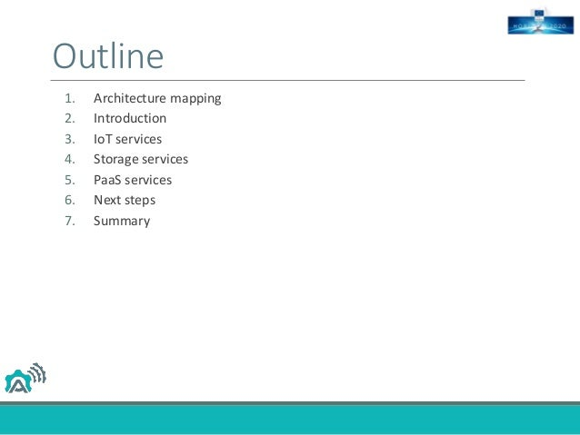 IoT and Cloud services interactions Slide 2