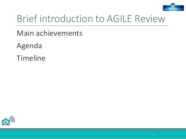 """AGILE M18 – State of the """"Nation"""" Slide 2"""