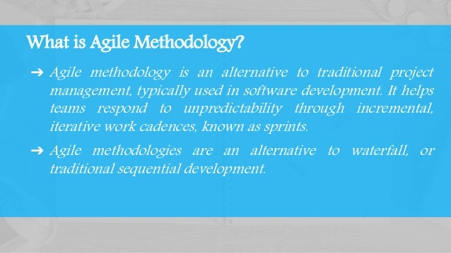 Agile (Scrum) Slide 2